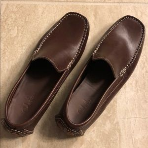 Cole Hann brown loafers, worn only one time!